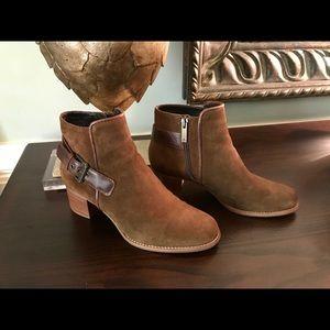 AQUATALIA Weatherproof Suede Ankle Boots